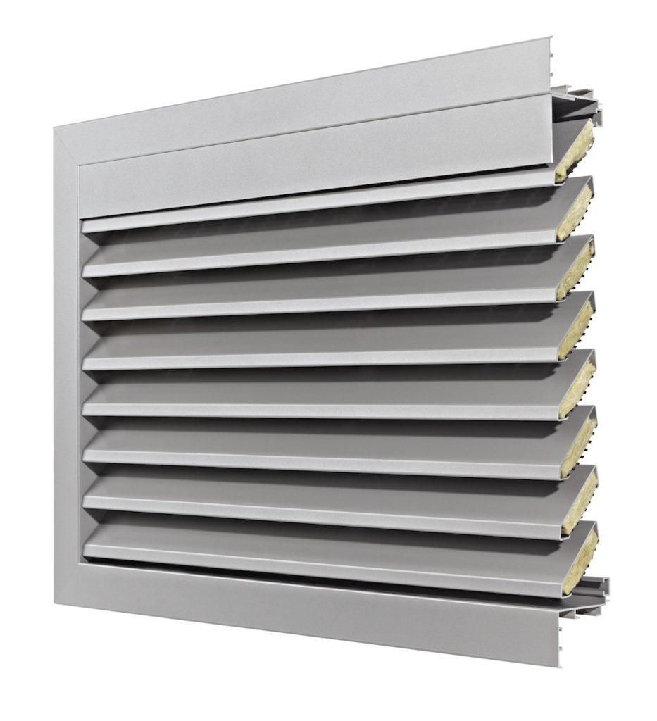 Ventilation. Grille de ventilation DucoGrille Acoustic G-75Z