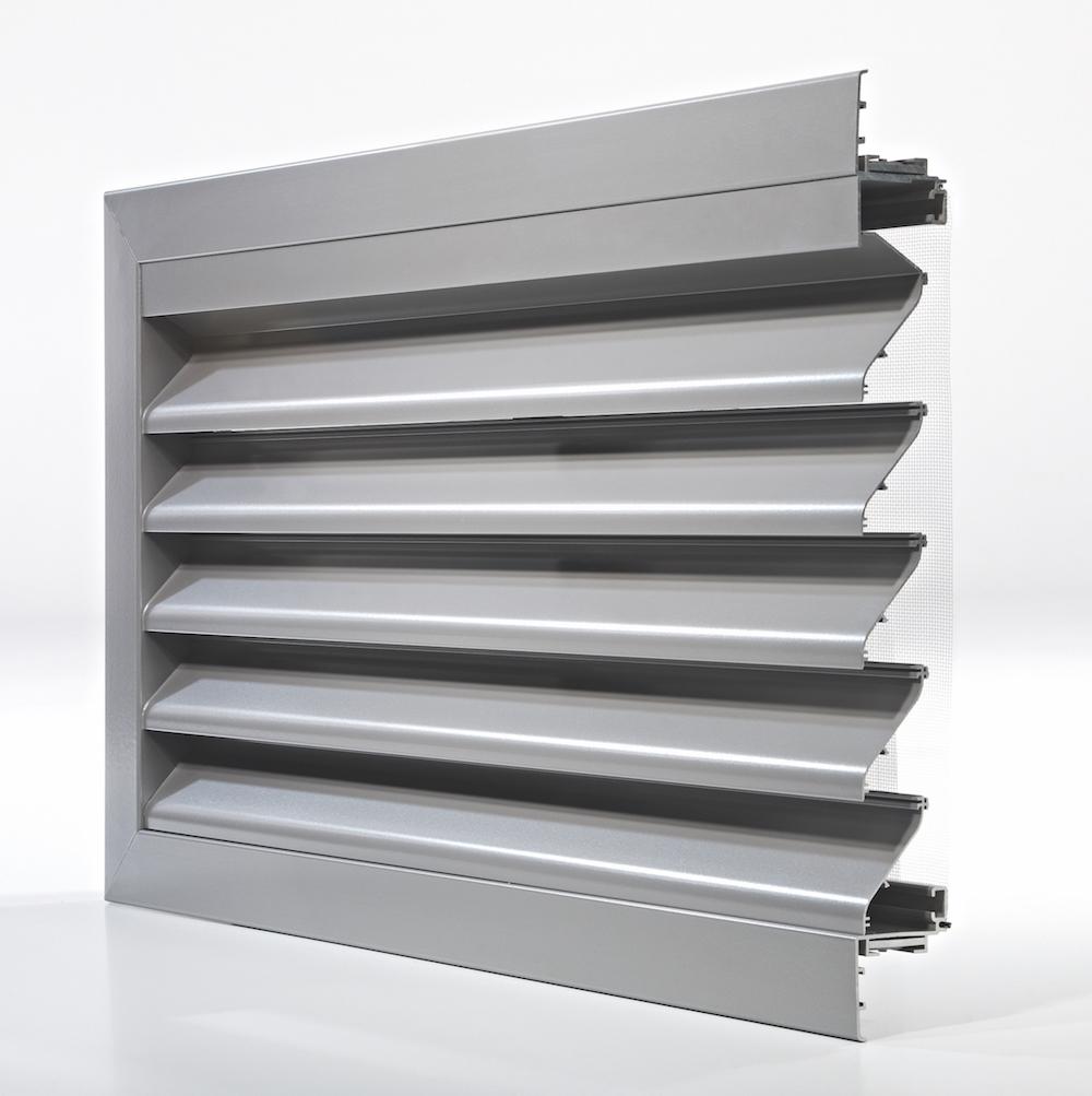 Ventilation. Grille de ventilation DucoGrille Classic 50-75S