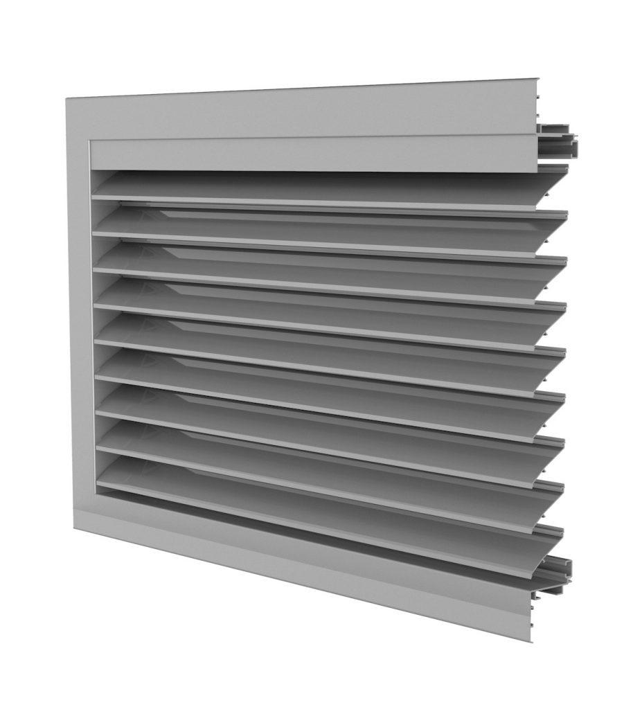 Ventilation. Grille de ventilation DucoGrille Classic 50HP