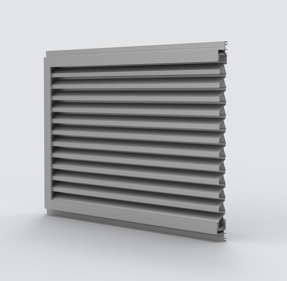 Ventilation. Grille de ventilation DucoGrille Solid ++_M30Z