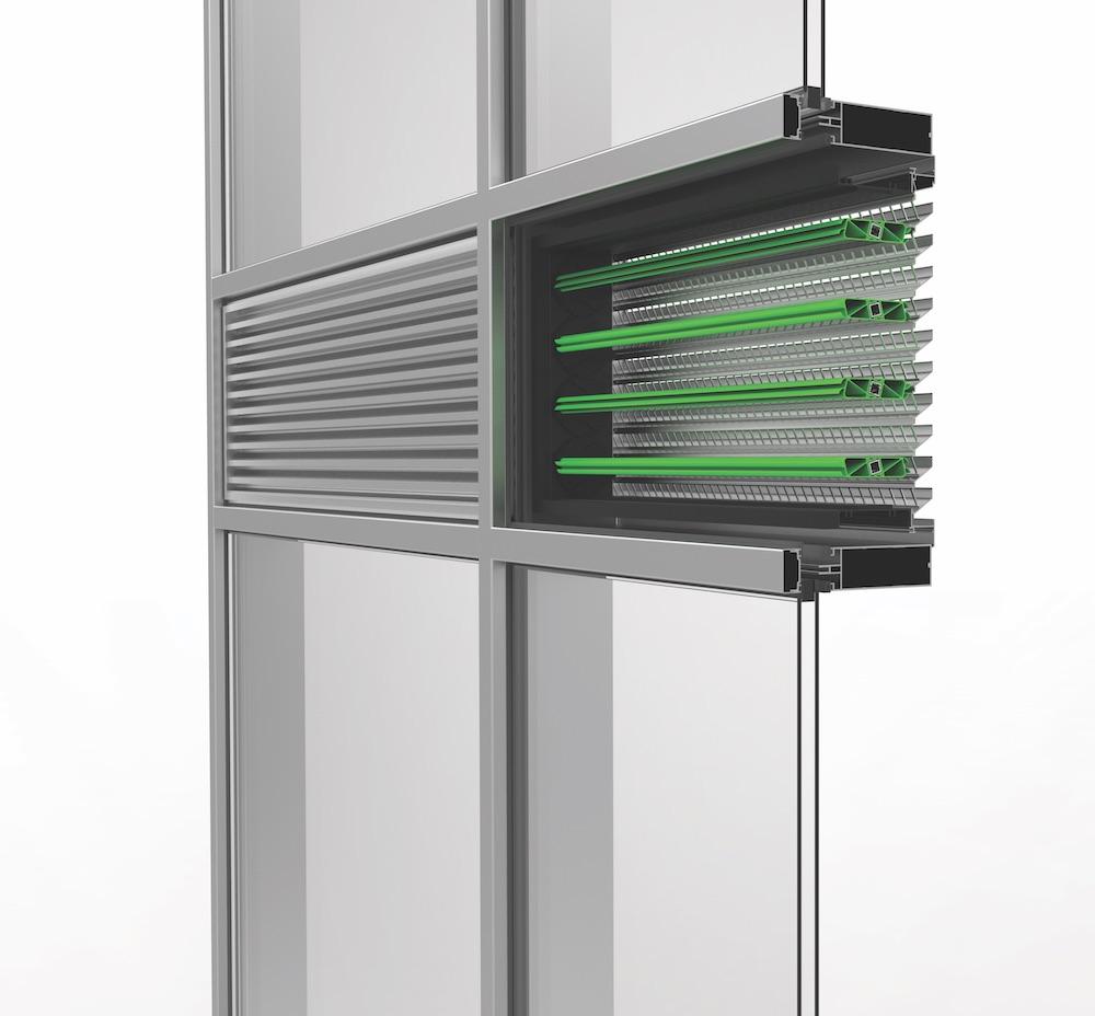 Ventilation. Grille de ventilation DucoGrille Close 105