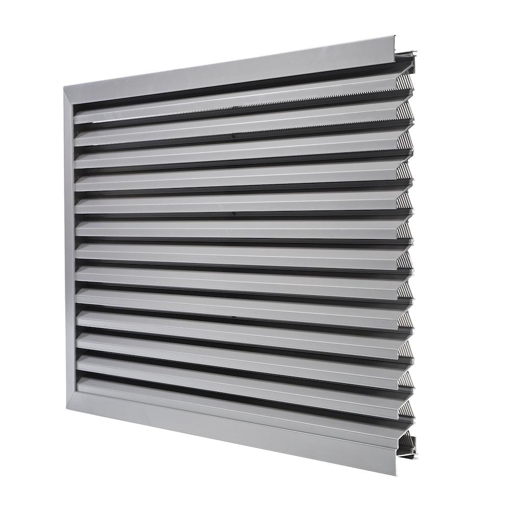 Ventilation. Grille de ventilation DucoGrille Solid G-30Z-P1